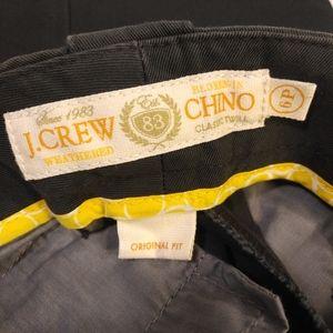 J. Crew Size 6P Petite Dark Gray Chino Style Pants